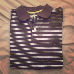 Boys Polo Shirt, size Medium